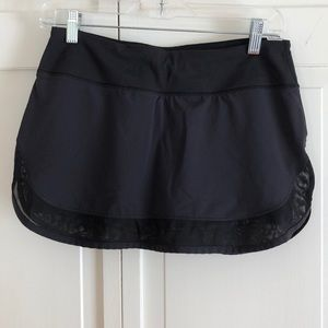 Lululemon Tennis Skort Size 6 Black